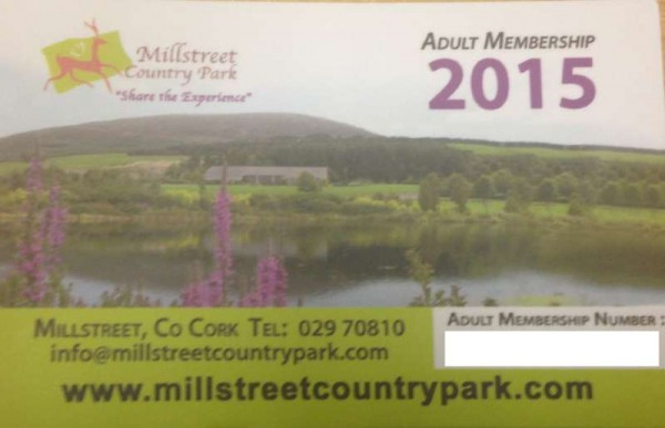 Preparation for the 2015 Season in Millstreet Country Park is well underway In 2015, We will be celebrating our 20th year in business and have lots in store to mark such a fantastic achievement!  Membership and Vouchers for the 2015 Season are now available over the phone or in Nibbles, Millstreet. The park will be open to the public from the 15th of March (Mothers Day) Upcoming Events for the Season will be published soon...   Please contact the Park on 029-70810 with any further questions you may have. We thank Orlaith for this feature.  (S.R)