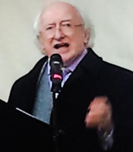2014-11-28 President Michael D Higgins  in Mallow - photo by Jane Thomas