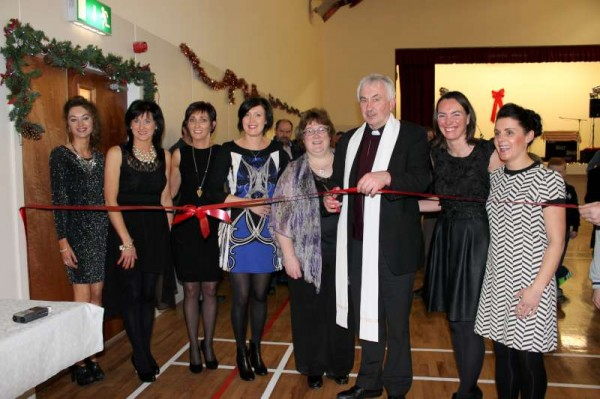 "A wonderfully large gathering assembled on Saturday night 13th Dec. 2014 for the officially opening of the magnificently restored Cullen Community Centre.   It was Canon John Fitzgerald, P.P., Millstreet who performed the opening and later blessed the Hall.   Santa arrived later to a great welcome.  Above we view the ""Magnificent Seven"" - the dedicated Committee comprising entirely of ladies who so splendidly coordinated the excellent and very successful project.  We share just four of a much larger selection of pictures from the historic occasion.  Lots more images to follow later.   Click on the pictures to enlarge.  (S.R.)"