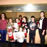 2014-12-21 Maureen O'Sullivan and hamper packers - Hamper packers