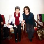2014-12-21 Maureen O'Sullivan and hamper packers - maureen and margaret
