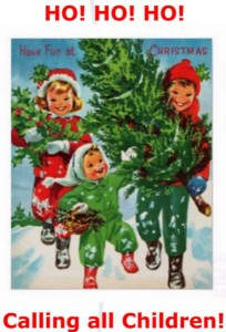 2014-12-23 Christmas Stories and Crafts at Millstreet Library - poster