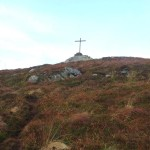 2014-12-25 Mushera Christmas Day Climb 07 - The Cross near the top