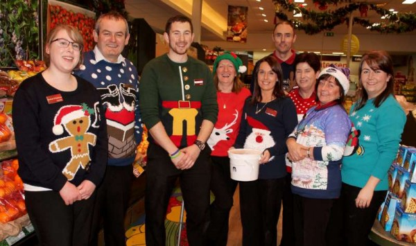 Friday, 19th Dec. 2014 has been Supervalu's Staff Christmas Jumper Day in aid of St. Joseph's Community Hospital, Millstreet.  Click on the images to enlarge.  (S.R.)