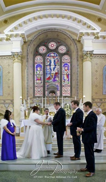 We thank Rebecca & Mort for permission to share a selection of images from their wonderful wedding in St. Patrick's Church, Millstreet on Sat. 20th Dec. 2014.  Here we feature splendid pictures taken by Justin Black.    We shall feature further images later.  Click on the images to enlarge.  (S.R.)