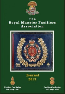 The Royal Munster Fusiliers Association - Journal 2013 - front page