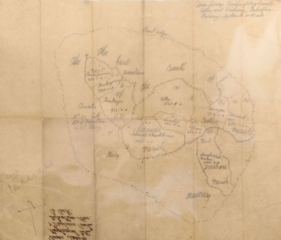 1670 Downes Survey - Parish of Cullen