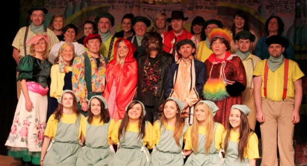 19Preparing for Rathmore Pantomime Jan. 2015