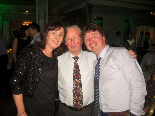 Sinéad, Jimmy and Thomas O'Leary