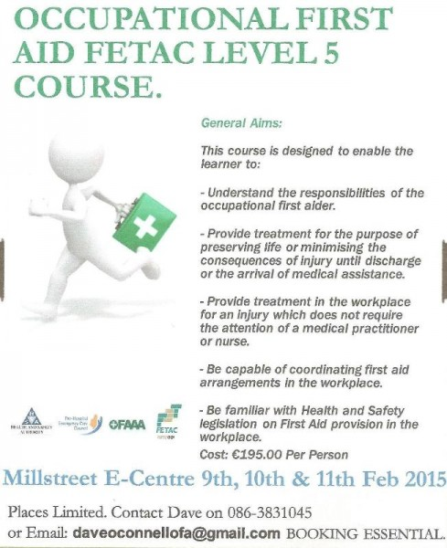 2014-02-09 Occupational First Aid Course_