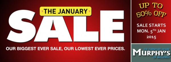 2015-01-05 Murphys Furniture - January Sale