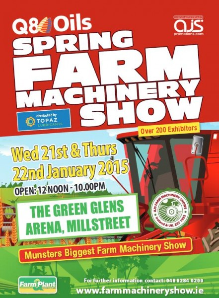 2015-01-22 Q8 Spring Farm Machinery Show - poster