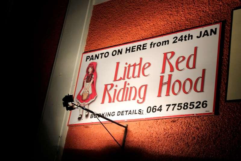 36Preparing for Rathmore Pantomime Jan. 2015