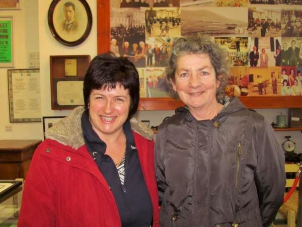 5Mary O'Mahony visits Millstreet Museum 29 Jan. 2015 -800