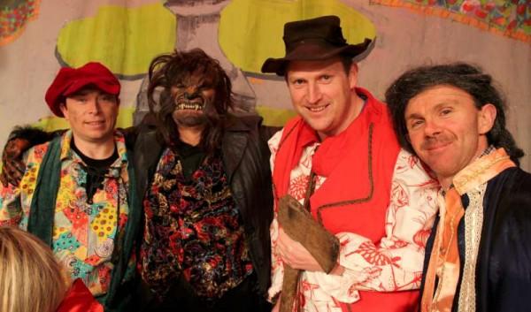 6Preparing for Rathmore Pantomime Jan. 2015