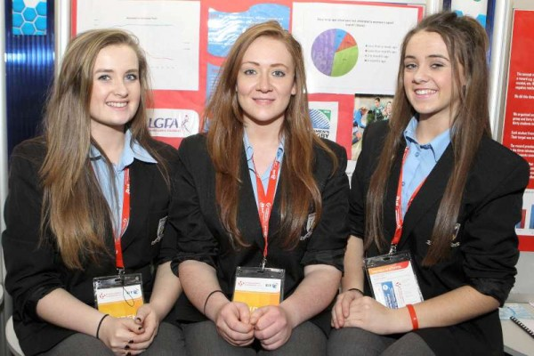 Ava Barry, Sarah Dennehy and Chloe Collins.