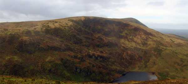 Kippagh Lake from Curracahill - taken in November 2009 by Jackill