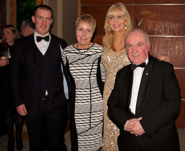 "Miriam O'Callaghan, Presenter Supreme, expressed great admiration for Millstreet and shared on video her very best wishes to All in Millstreet. Our attendance at the prestigious event was a truly valuable networking experience.  For example, pictured below is Michael (Cashman) with Paddy Byrne (who has already sent a very kind comment to our website). Paddy is in fact the national President of Muintir na Tíre and his group ""Le Chéile""Park in Askamore, Co. Wexford won the award for Best Public Park.  We were sharing the table at the event with Paddy's wonderfully welcoming team.  We shall be featuring lots more images later. Click on the images to enlarge.  (S.R.)"