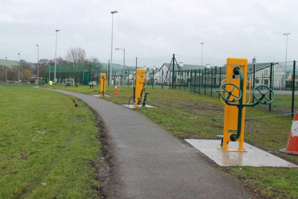 15Town Park Outdoor Gym Equipment Launch 2015 -800