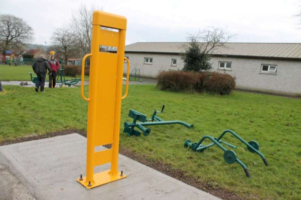 1Town Park Outdoor Gym Equipment Launch 2015 -800