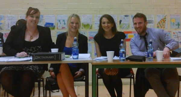 2015-01-31 Millstreet Macra Senior Debaters who won in Naas to get to the all Ireland quarter finals
