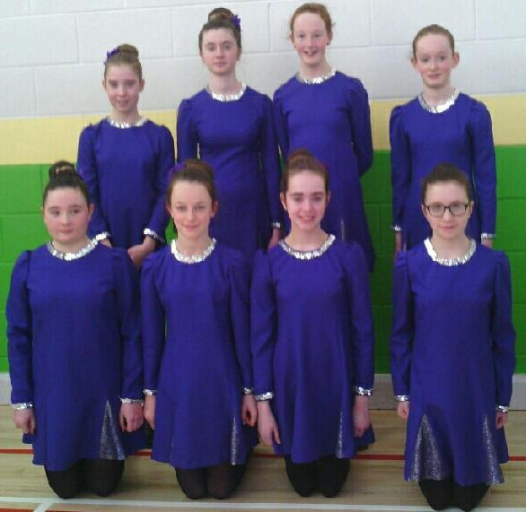 2015-02-01 Millstreet U13 Set Dancers 2nd at the Munster Ceol an Gheimhridh Finals