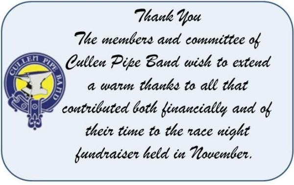 2015-02-03 Thank You from Cullen Pipe Band-600