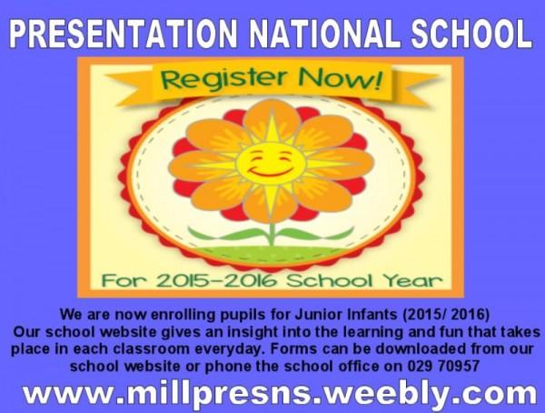 2015-02-06 Presentation NS - register now - poster