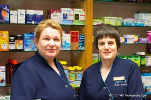 2015-02-12 Out and About at Reen's Pharmacy - Sheila and Gillian McCarthy - by TMC Photography
