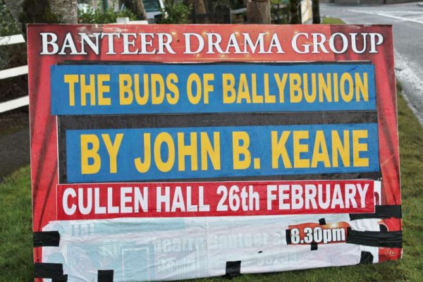 "The truly excellent Banteer Drama Group's production of John B. Keane's ""The Buds of Ballybunion"""