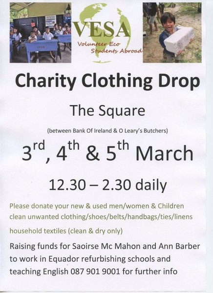 2015-02-25 Charity Clothes Drop - poster