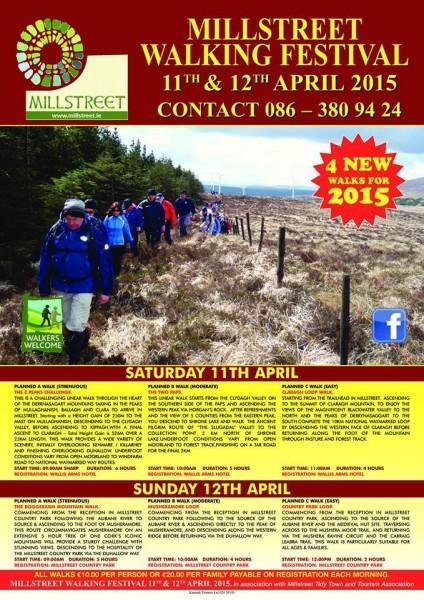 2015-02-26 Millstreet Walking Festival - poster