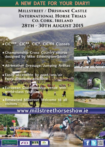 2015-08-28 Millstreet & Drishane Castle International Horse Trials - a new Date for the diary