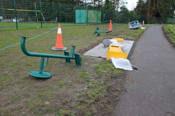 25Town Park Outdoor Gym Equipment Launch 2015 -800