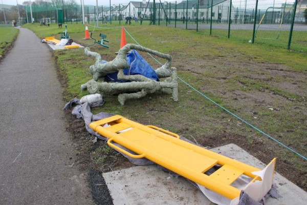 26Town Park Outdoor Gym Equipment Launch 2015 -800