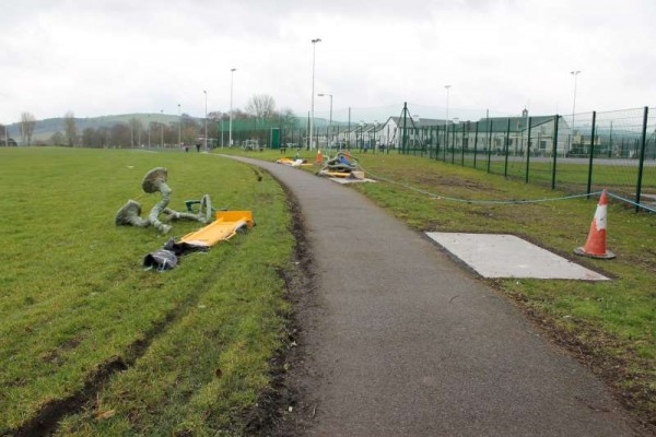 27Town Park Outdoor Gym Equipment Launch 2015 -800