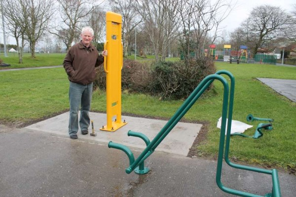 2Town Park Outdoor Gym Equipment Launch 2015 -800
