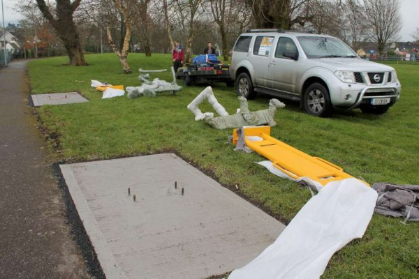 32Town Park Outdoor Gym Equipment Launch 2015 -800