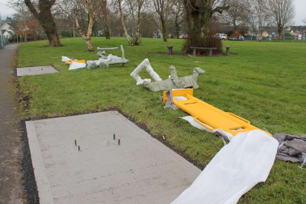 33Town Park Outdoor Gym Equipment Launch 2015 -800