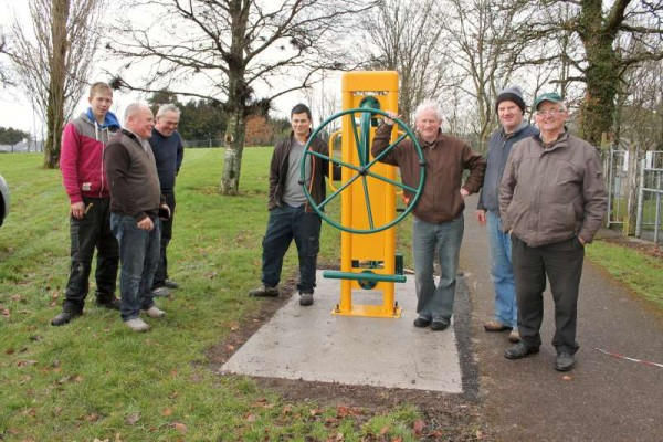 "On Thursday, 12th Feb. 2015 Millstreet Town Park ""Outdoor Gym"" became a reality when the 24 very impressive units were installed by the wonderfully efficient Co. Mayo Company.  Click on the images to enlarge.  (S.R.)"