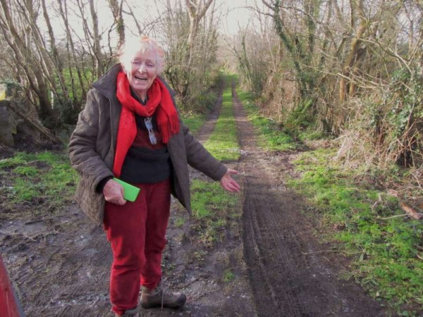 37Mary Russell revisits the Butter Road 1st Feb. 2015 -800