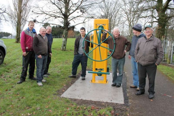 37Town Park Outdoor Gym Equipment Launch 2015 -800