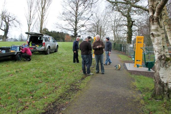 39Town Park Outdoor Gym Equipment Launch 2015 -800