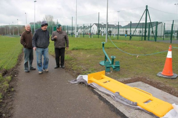 40Town Park Outdoor Gym Equipment Launch 2015 -800