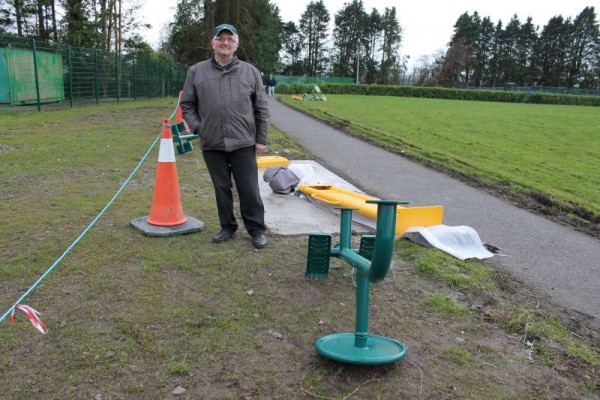 43Town Park Outdoor Gym Equipment Launch 2015 -800