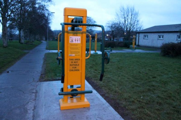 44Town Park Outdoor Gym Equipment Launch 2015 -800