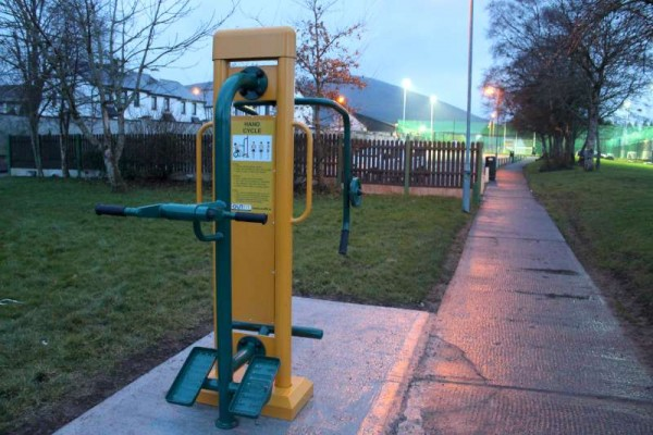 45Town Park Outdoor Gym Equipment Launch 2015 -800