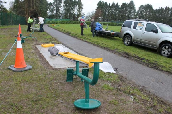 47Town Park Outdoor Gym Equipment Launch 2015 -800