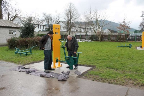 4Town Park Outdoor Gym Equipment Launch 2015 -800