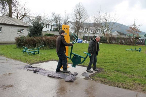 5Town Park Outdoor Gym Equipment Launch 2015 -800